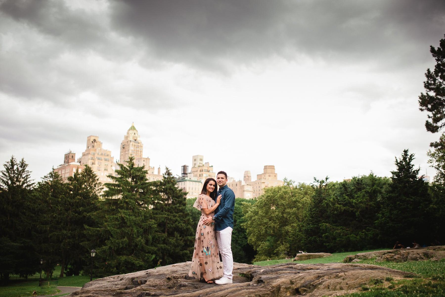 ensaio de casal no central park