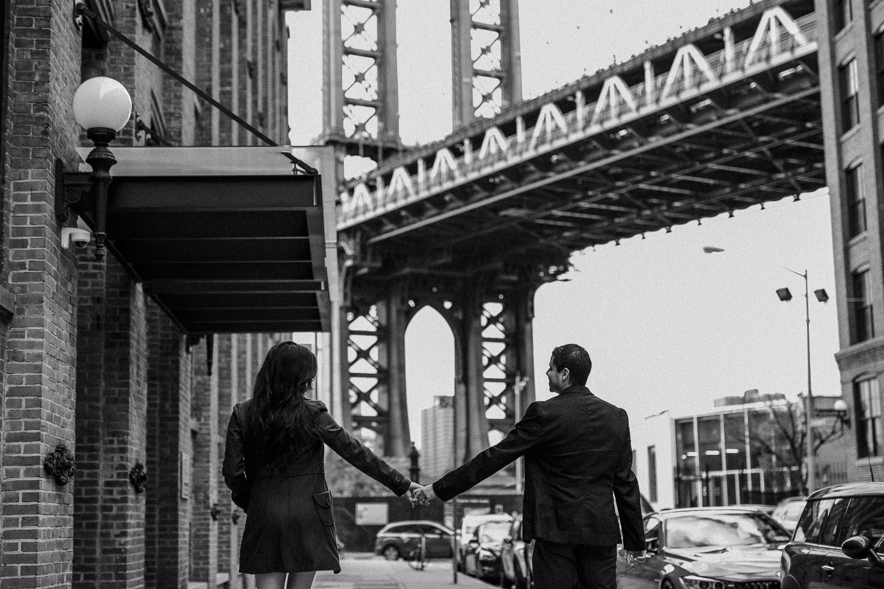 ensaio de casal no brooklyn