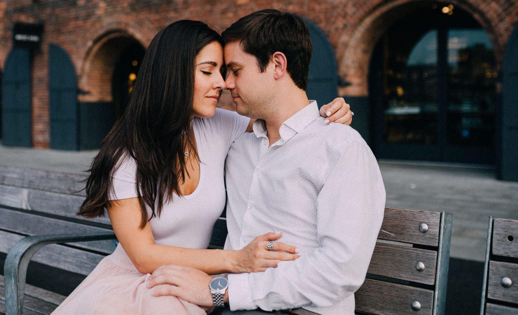 fotos de casal em nova york
